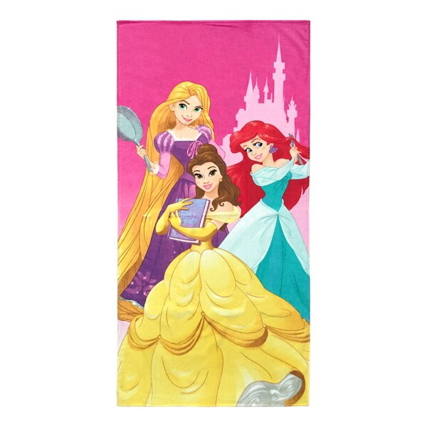 Disney Princess 100% Cotton Beach Towel by PBS Kids